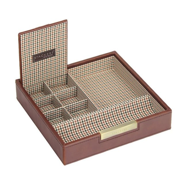 Jewellery/ Watch Accessories Stackers Mens - 73216 - Lidded Valet