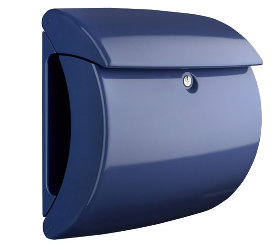 Burg Wächter Piano Post Boxes - Piano 886 Marine Blue