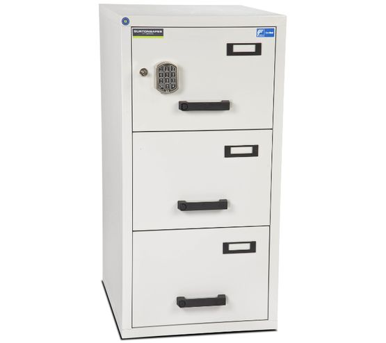 Fire Resistant Filing Cabinets 3 Drawer By Burton Safes