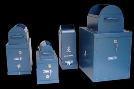 Checkmate Devices Limited Roll Top Safes - WCS2RTLP-Commercial short roll top 1 lock complete