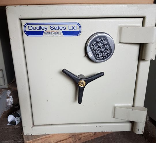 Dudley Safes Ltd Europa Grade 0 - Size 1 Digital