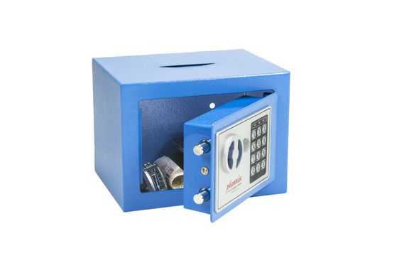 Phoenix Safes Compact Home & Office Safes - SS0721EBD - Blue Deposit