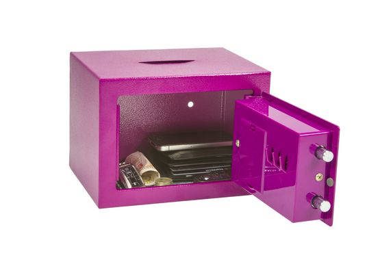 Phoenix Safes Compact Home/Office SS0721E Series - SS0721EPD - Pink Deposit