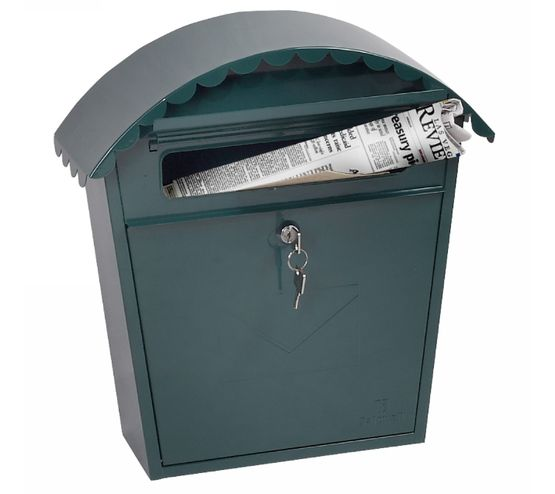Phoenix Safes Front-loading Mail Boxes MB Series - CLASICO MB0117KG Green