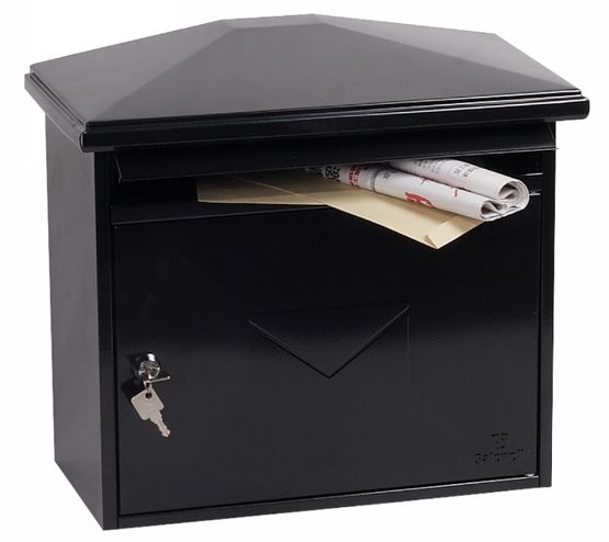 Phoenix Safes Front-loading Mail Boxes MB Series - LIBRO MB0115KB Black