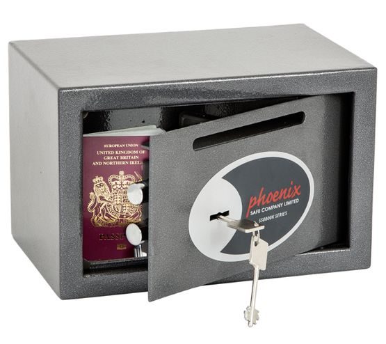 Phoenix Safes Vela Deposit Home and Office Safes  - SS0801