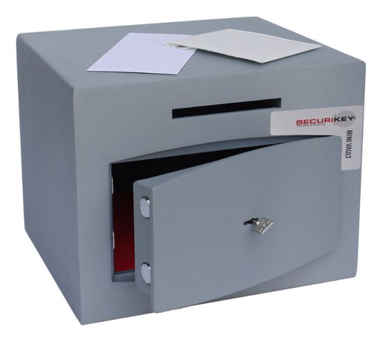 Securikey Mini Vault Silver Deposits - Mini Vault 1 Deposit