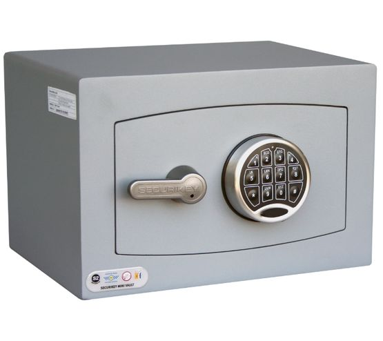 Securikey Mini Vault Silver S2 - Mini Vault 0