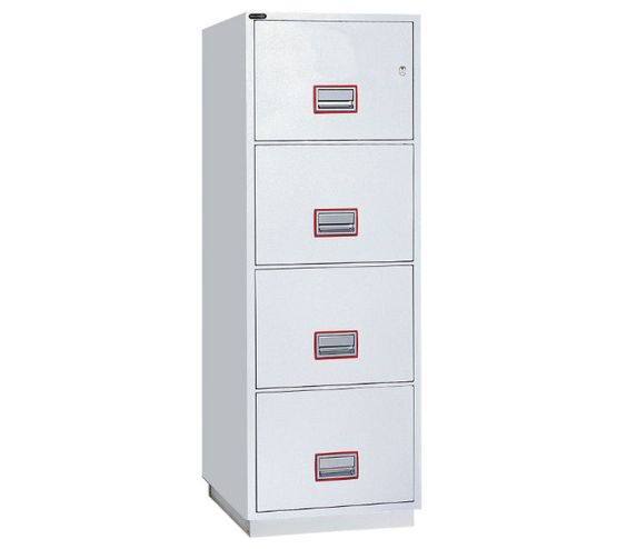 Securikey Securikey Fire Resistant Filing Cabinet - 4-drawer
