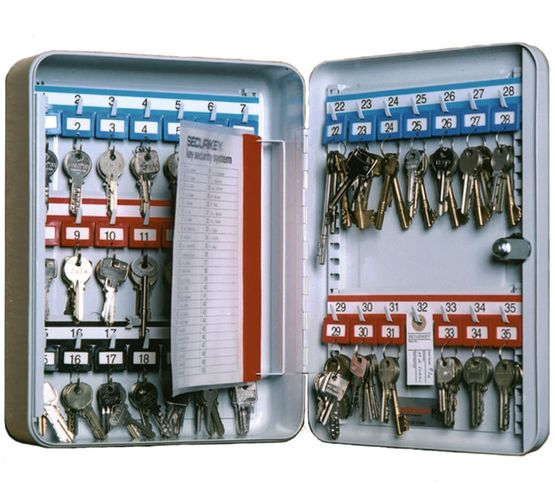 Securikey System Deep Key Cabinets - System 35 Deep