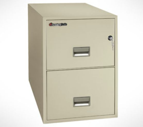 2 Drawer filing cabinet - 2G2530B Black 2G2530B Black