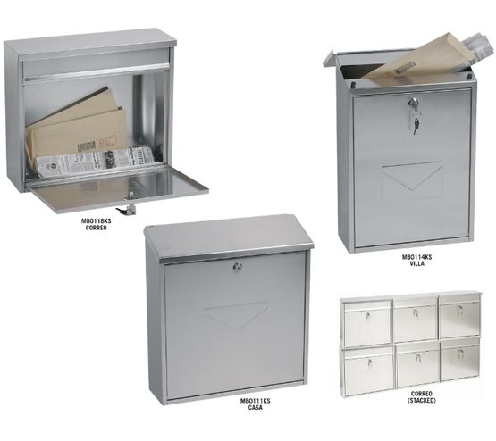 Stainless Steel Key-locking Mail Boxes MB Series - Phoenix Safes