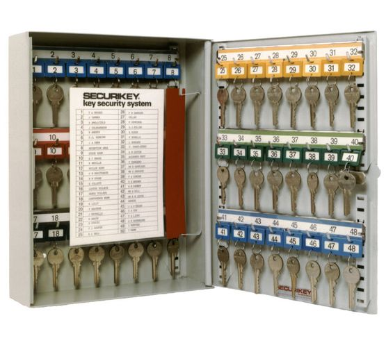 Securikey System Euro Cylinder Key Cabinets - System 20 Euro