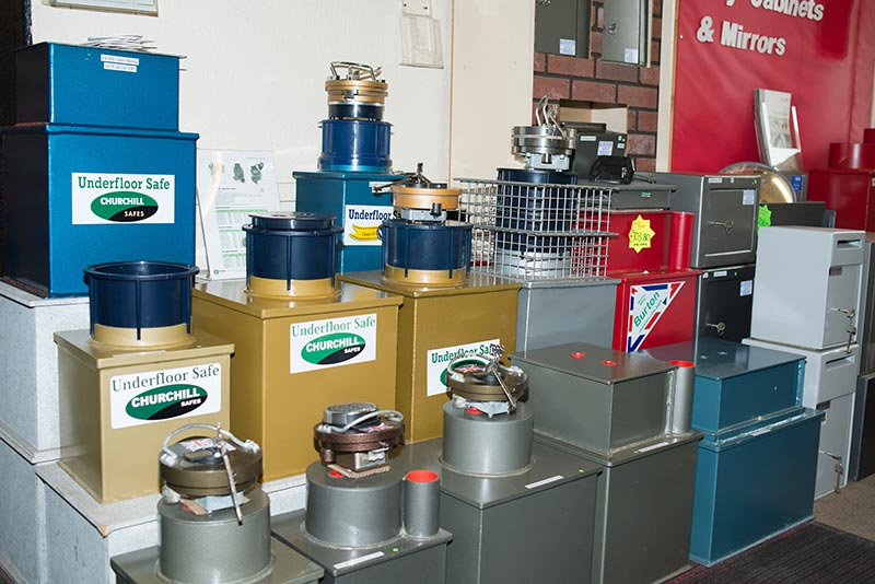 Lichfield Showroom Safe Selection